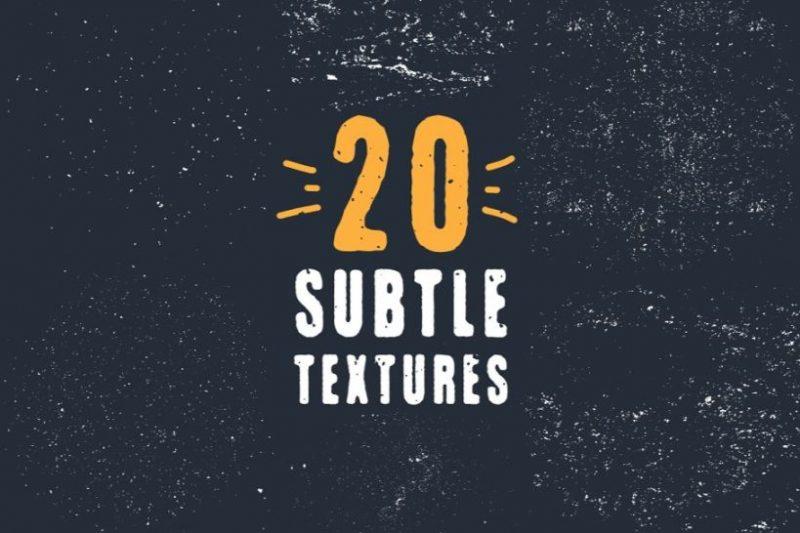 20 Vector Grunge Textures