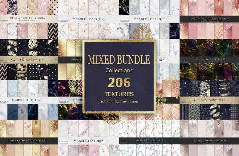 206 Mixed Textures Bundle
