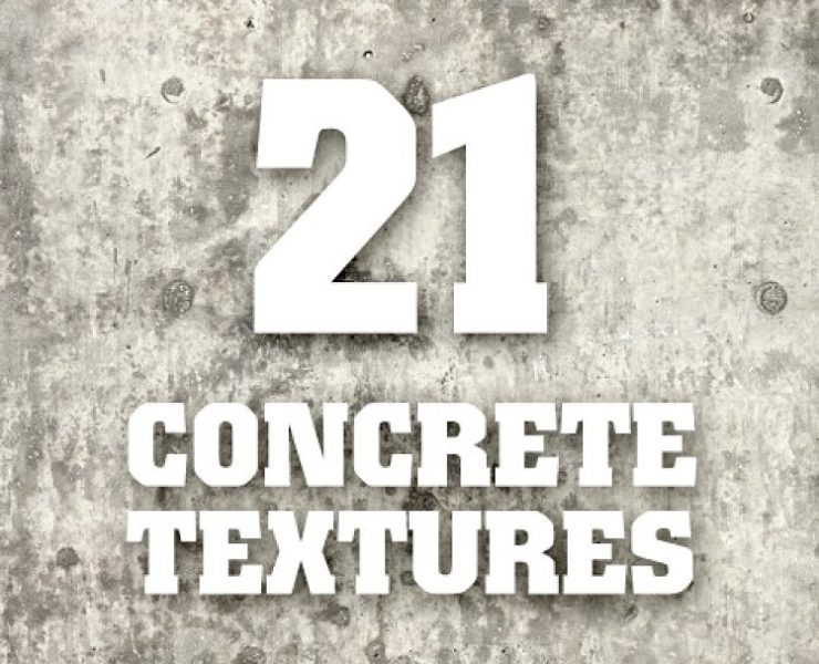 20+ Concrete Textures for Design Projects