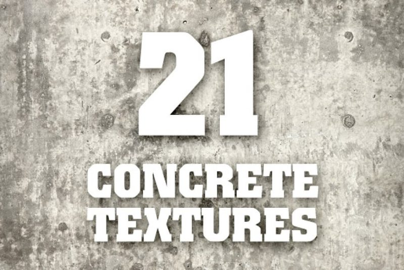 21 Concrete Texture Backgrounds