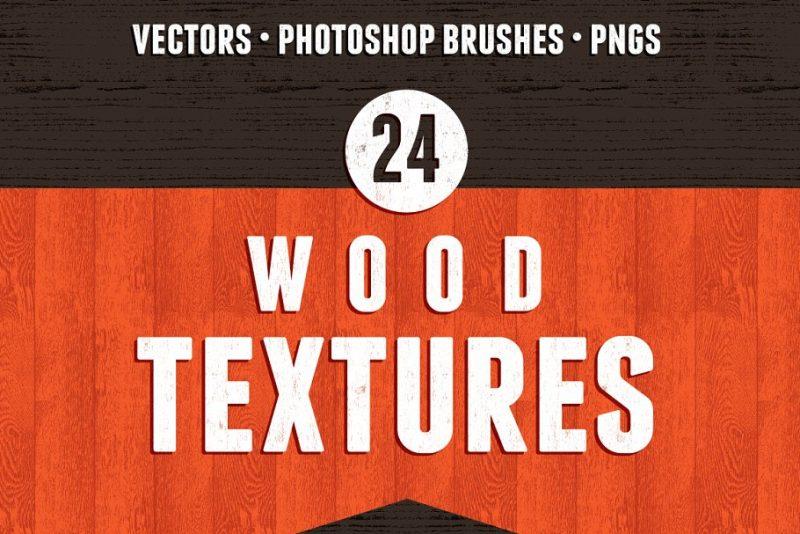 24 Seamless Wooden Texture Designs