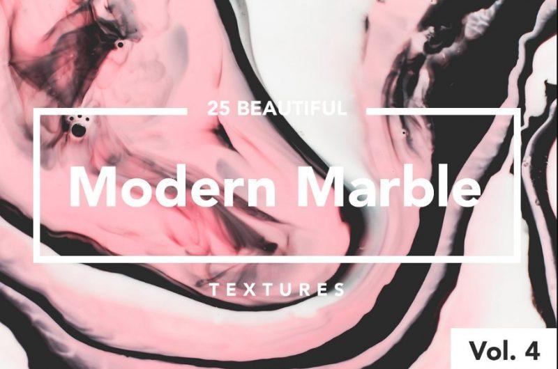 25 Marble Textures Ink Textures