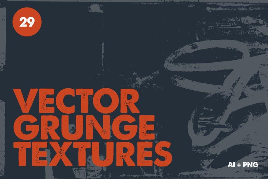 29 Vector Grunge Vectors PNG