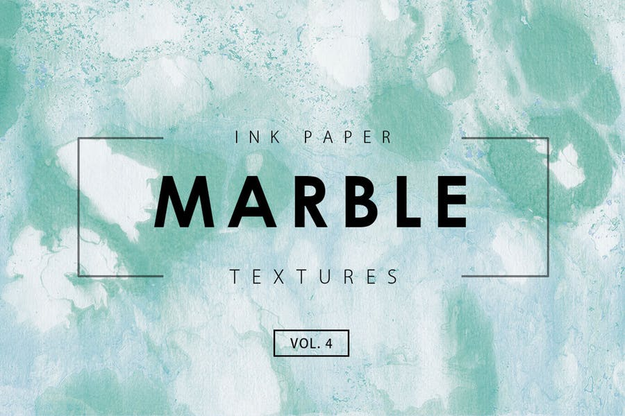 4 Marble Ink Background Textures
