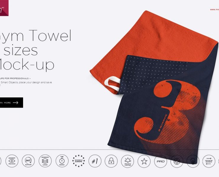 13+ Towel Mockups PSD for Hotel Branding
