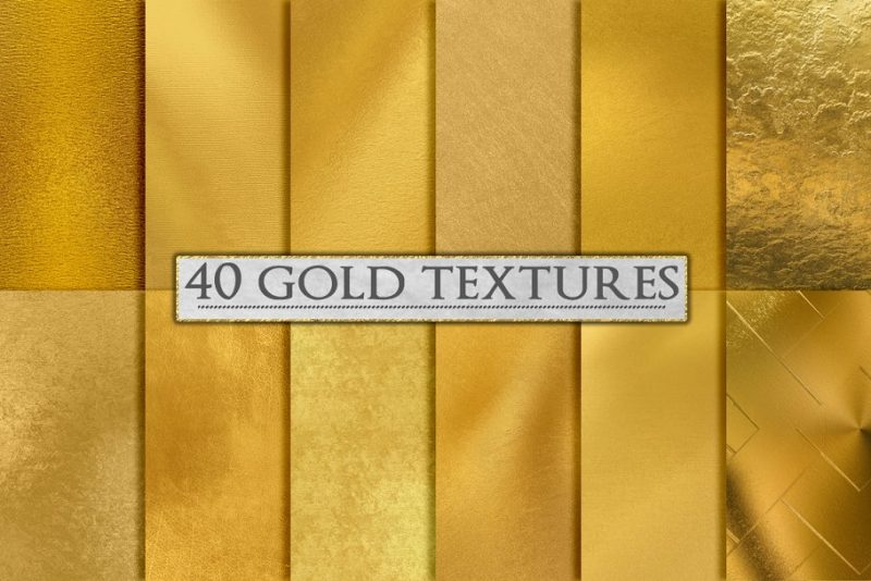 40 Clean Gold Backgrounds