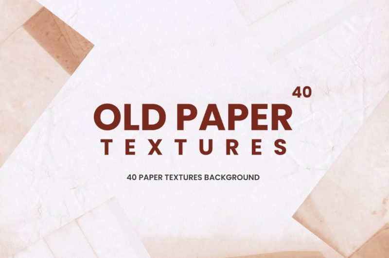 40 Old Paper Backgrounds