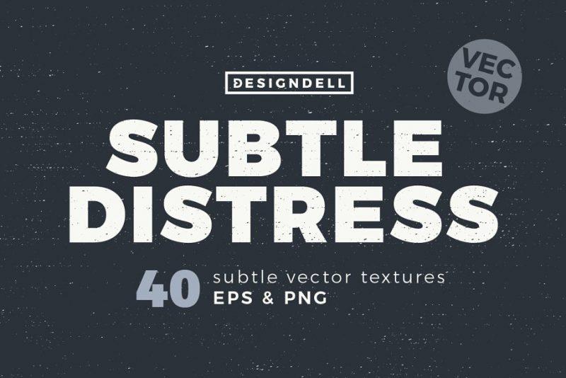 40 Subtle Distressed Textures