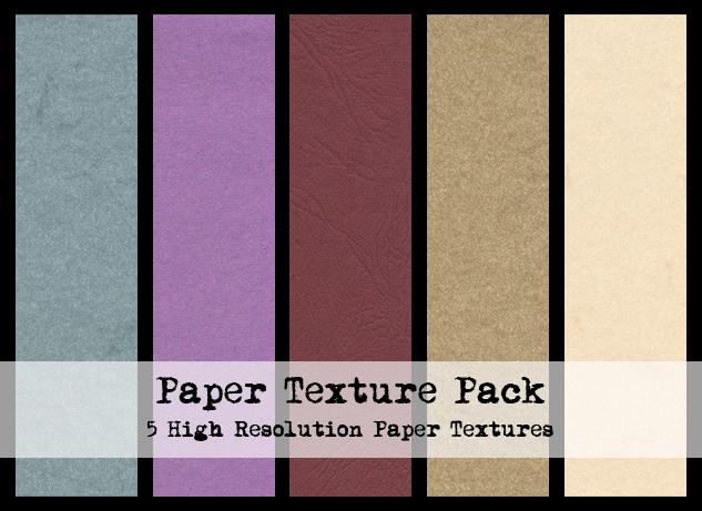 5 HD Subtle Paper Textures