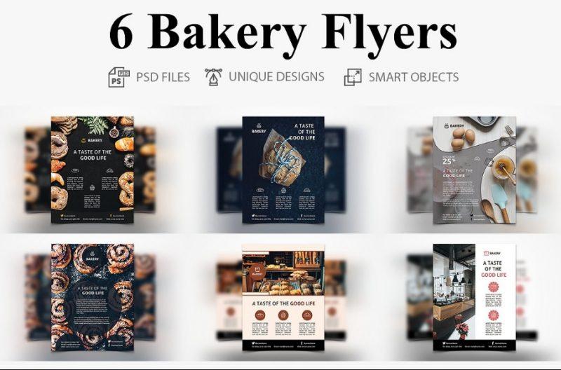 6 Bakery Flyers Bundle