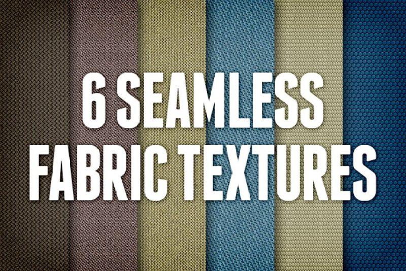 6 Seamless Fabric Textures