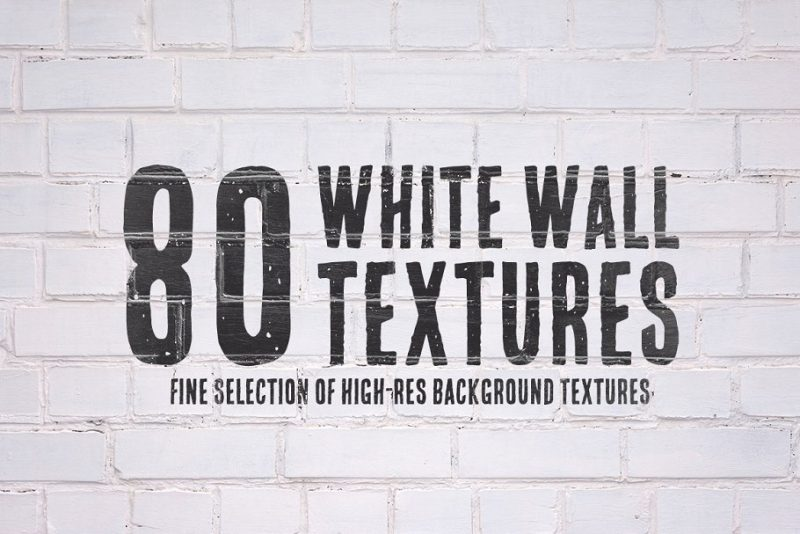 80 White Wall Textures