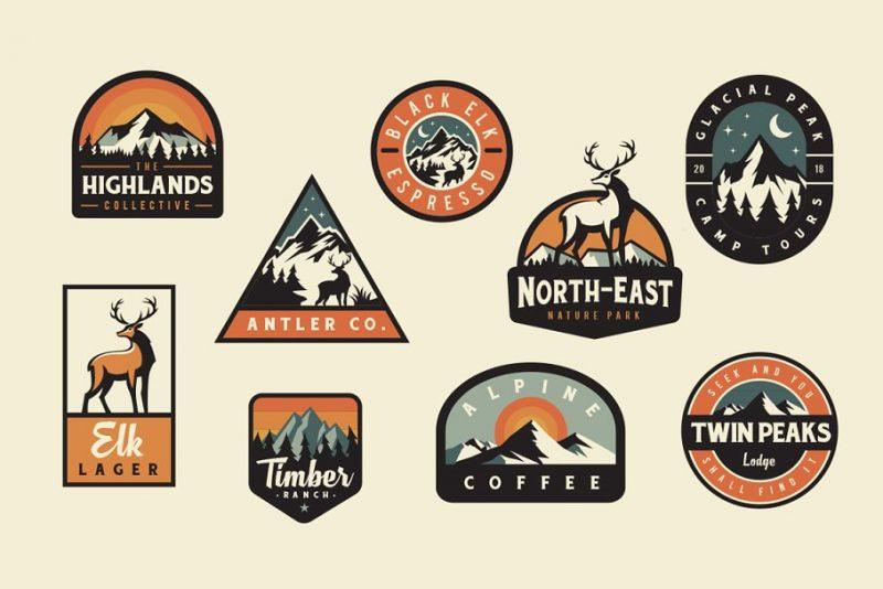 Adventurous Logo Design PNG