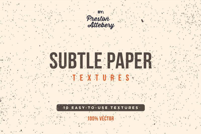 Ai Subtle Paper Texture Pack