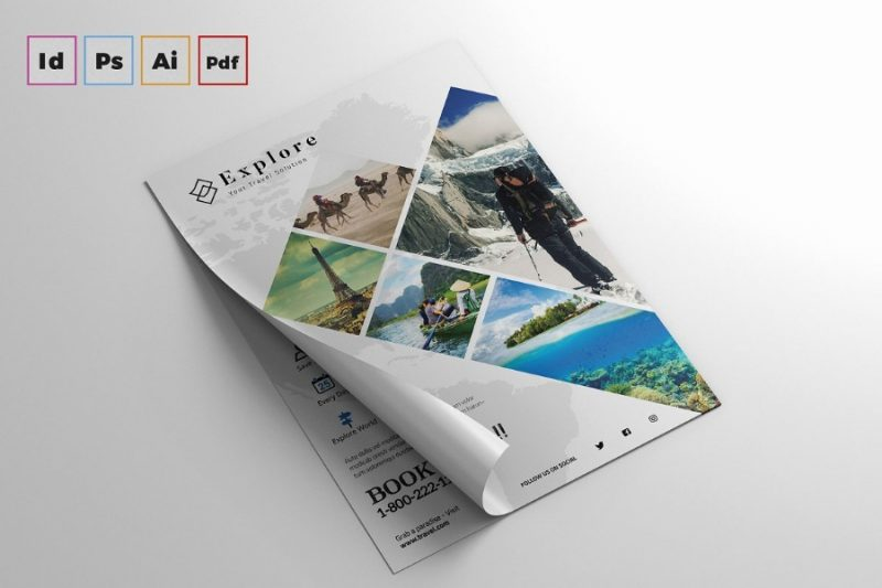 Ai and PSD Travels Flyer