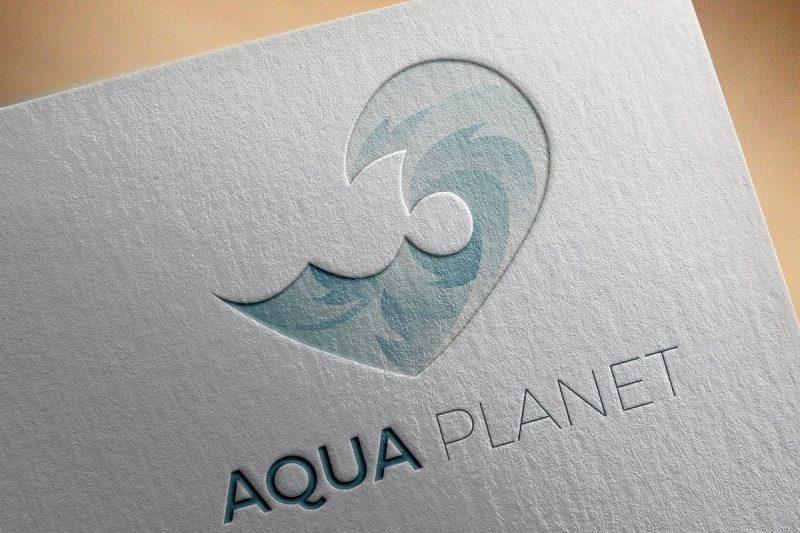 Aqua Logo Concept Design
