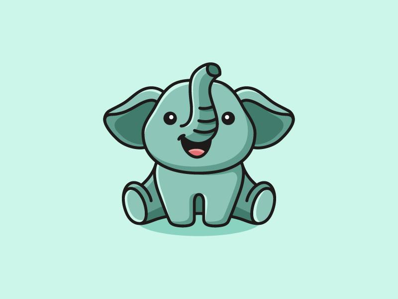 Baby Elephant Logo Idea
