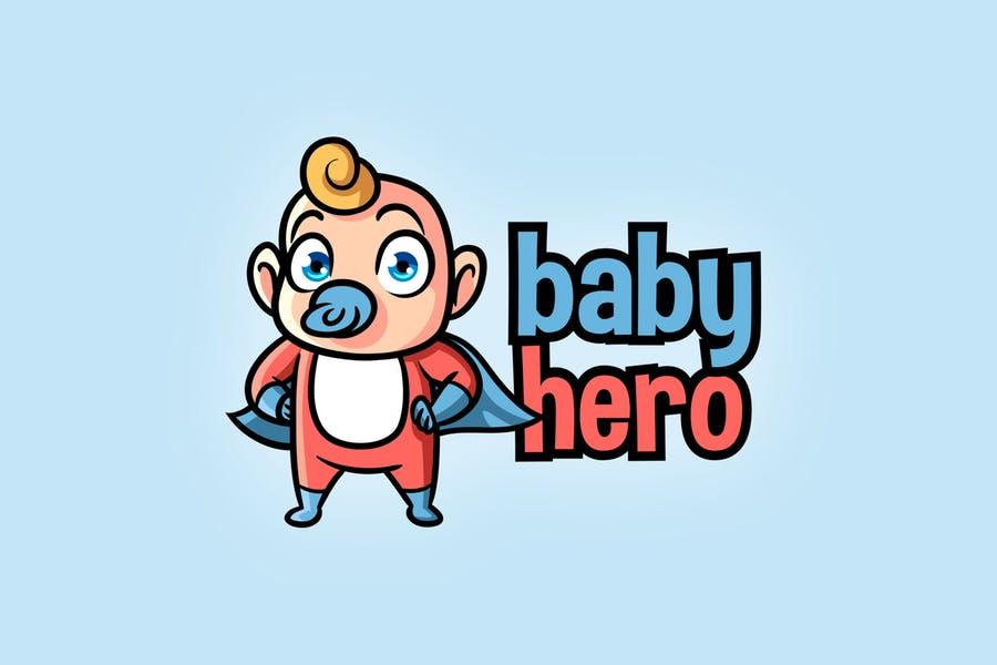Baby Hero Logo Design
