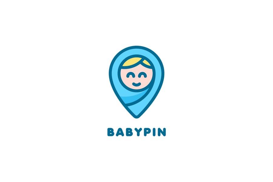 Baby Pin Logo Idea