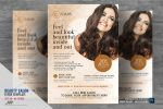 11+ Hair Salon Flyers PSD and AI Templates