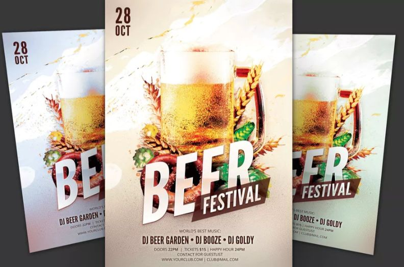 Beer Festival Flyer Templates