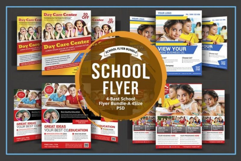 Best Daycare Flyers Bundle