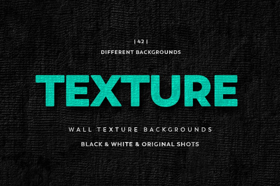 Black Wall Textures Backgrounds