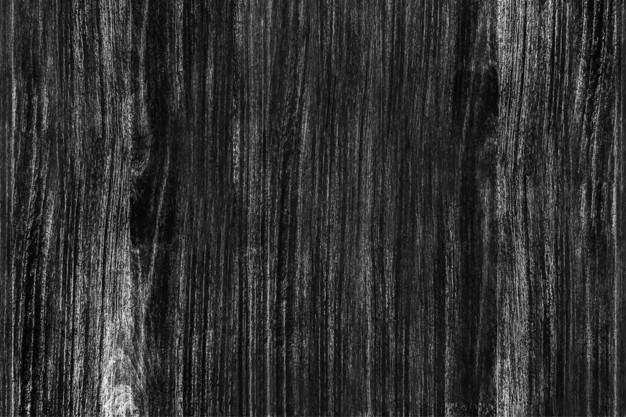 Black Wooden Floor Texture