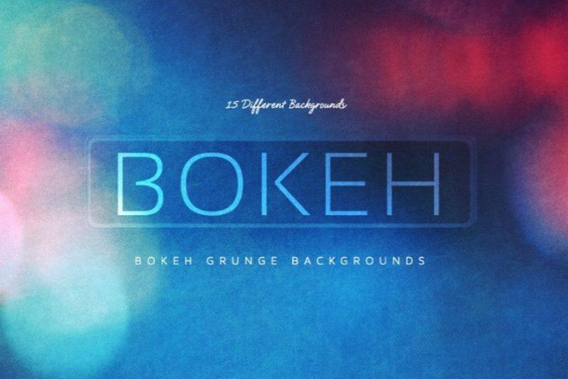Bokeh Grunge Texture Background