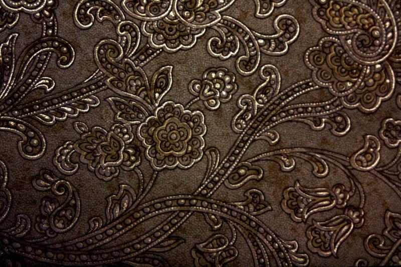 Bronze Floral Textures