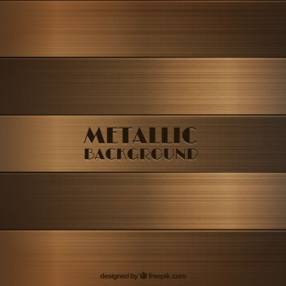 Bronze Metallic Background