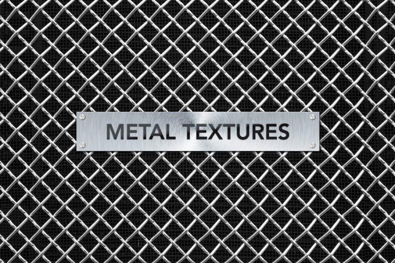 Brushed Aluminium Backgrounds