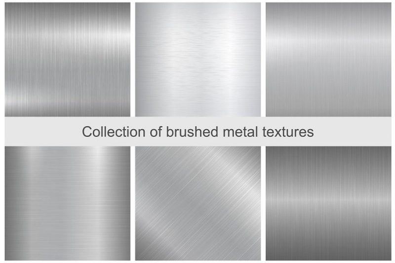 Brushed Aluminium Textures