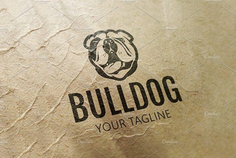 Bull dog Logo Design Idea