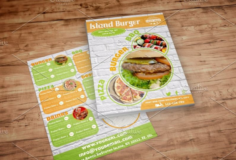 Burger and BBQ Flyers