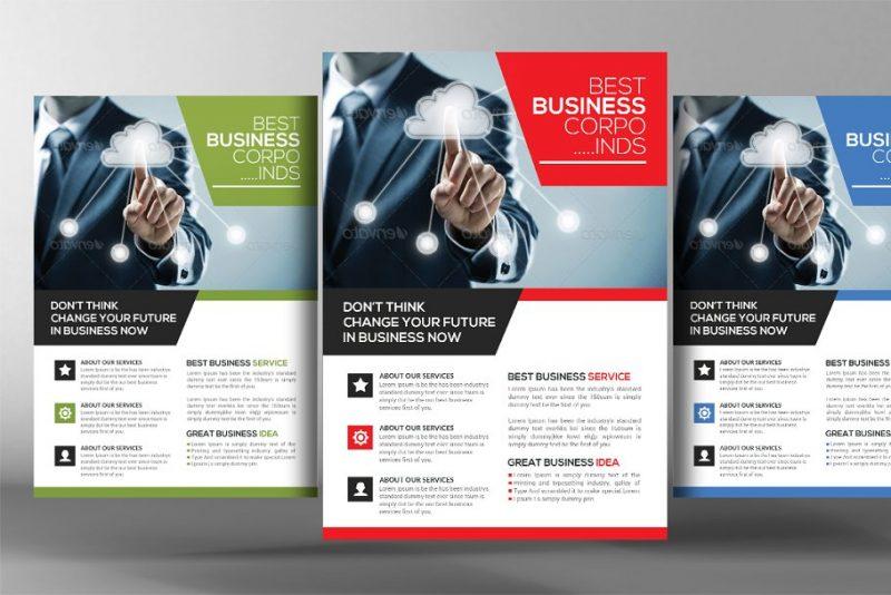 Career Agency Flyer Template