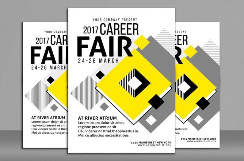 Career Fair Flyer Templates