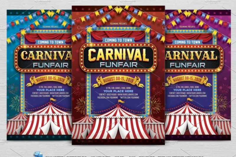 Carnival Fair Flyer Template