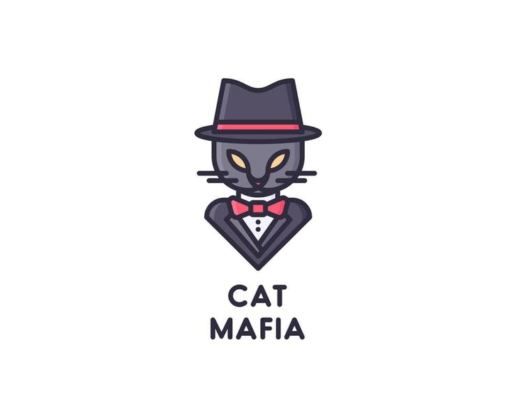 18+ Cat Logo Designs, Examples and Inspiration