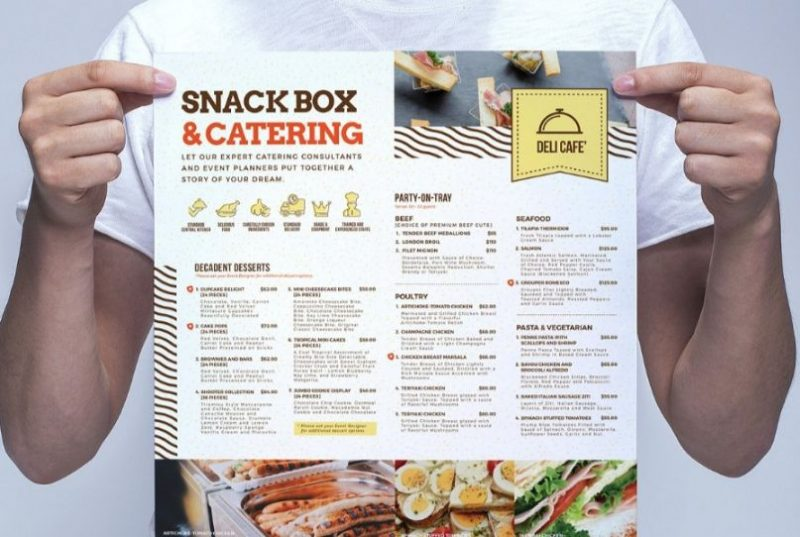 Catering Services Flyer Template