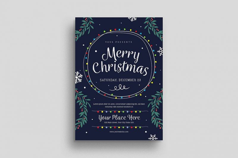 Christmas Event Flyers Template
