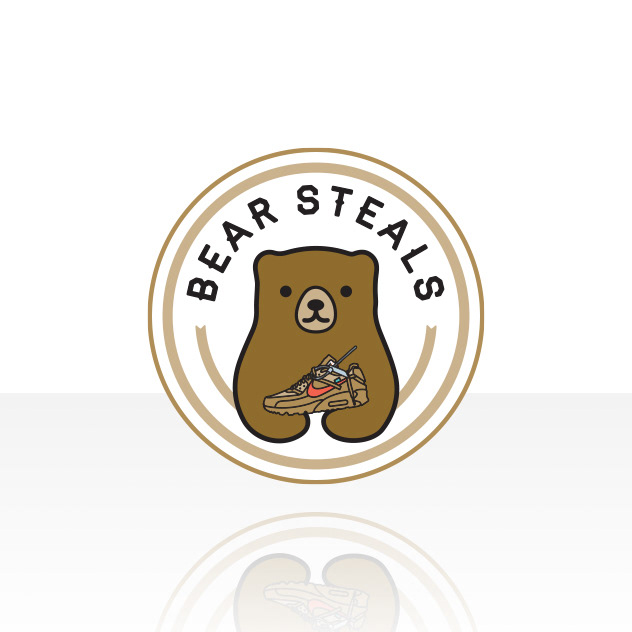 Circular Bear Logo Design