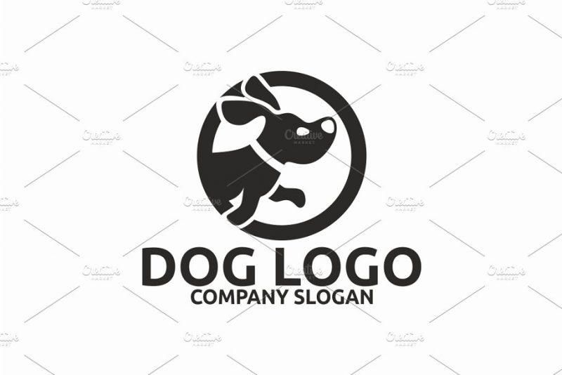 Circular Dog Identity Design