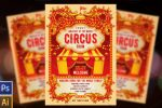 11+ Circus Flyer Template PSD and Ai Editable