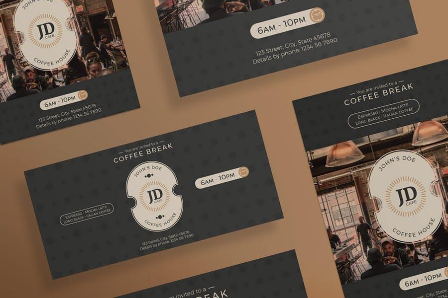 Clean Coffee Bar Flyers