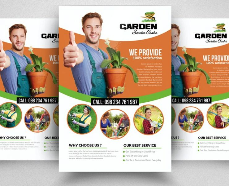 11+ Lawn Care Flyer Templates PSD, Ai, and Word