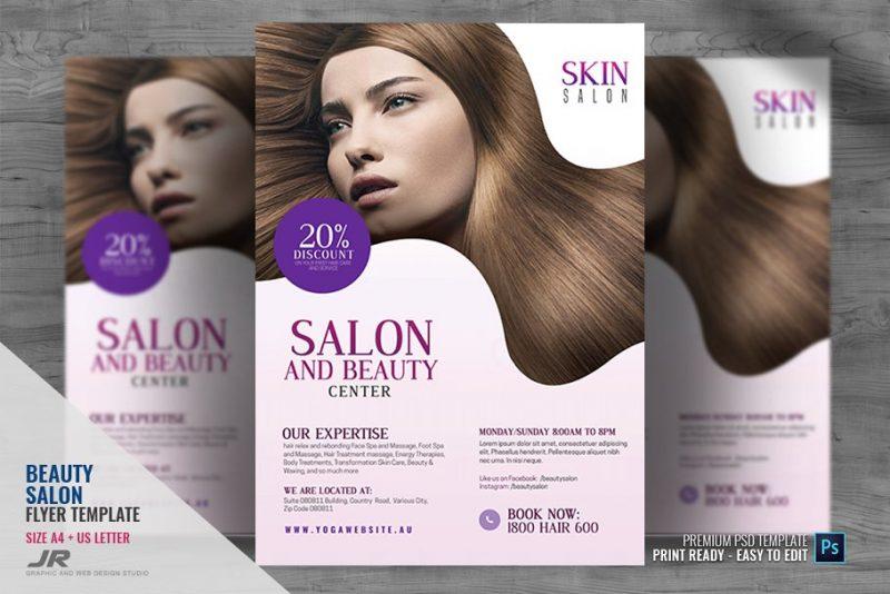 Clean Hair Salon Flyer
