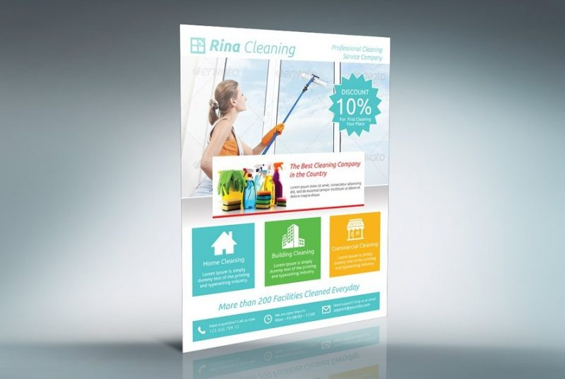 15+ Editable Cleaning Flyer Templates PSD, Ai, and PDF