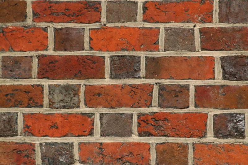 Closeup Brick Wall Background