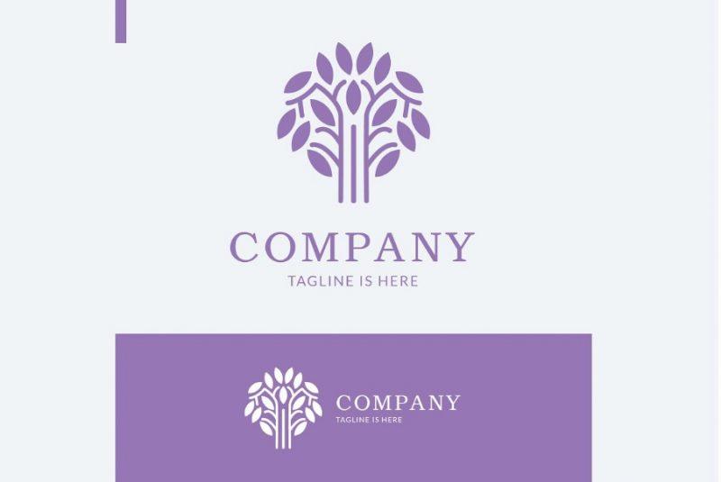 Corporate Tree Logo Designs